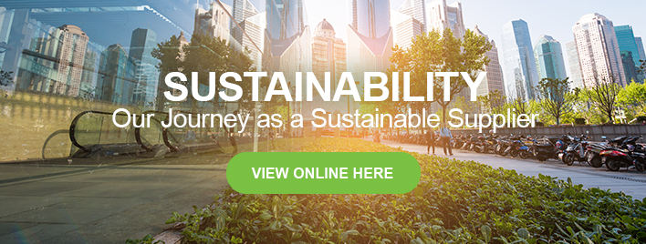 Our Journey as a Sustainable Supplier