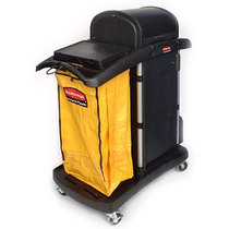 Rubbermaid Microfibre Cart c/w Hood Assembled