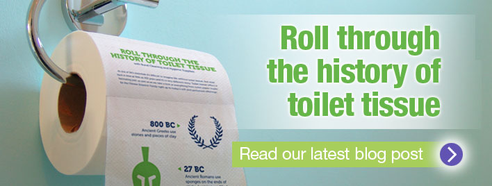 The History of Toilet Tissue!