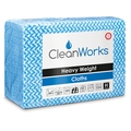 CleanWorks Heavy Weight Hygiene Cloth Blue