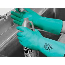 Nitri-Tech III Nitrile Glove Green Large