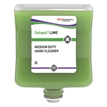 Solopol Lime Medium-Heavy Duty Hand Cleaner Cartridge 2 Litre
