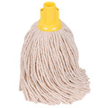 CleanWorks PY Socket Mop Yellow No14 Pack 10