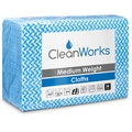 CleanWorks Medium Weight Hygiene Cloth Blue