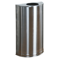 Rubbermaid Half Round Open Top Bin