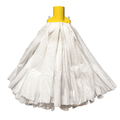 CleanWorks Standard Non Woven Socket Mop Yellow