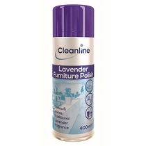 Cleanline Lavender Polish Aerosol 400ML Case 12