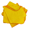 CleanWorks Yellow Duster 50x35CM Pack 10
