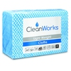CleanWorks Lightweight Hygiene Cloth Blue