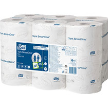 Tork SmartOne Mini Toilet Tissue Roll White