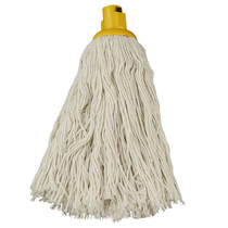 CleanWorks Twine Socket Mop Yellow No 12