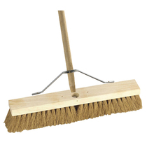 Broom Natural Coco with Handle & Stay 45CM