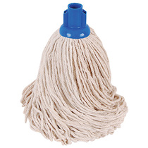CleanWorks PY Socket Mop Blue No16 Pack 10