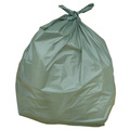 Green Plastic Sack