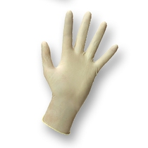 KeepCLEAN Latex Powdered Glove Clear Small