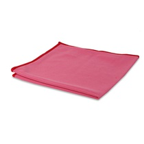 Wecoline Glass & Metal Cloth Red Pack 10
