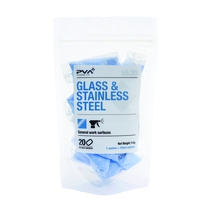 PVA Hygiene Glass & Stainless Steel Cleaner Sachets