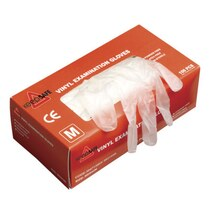 KeepSAFE Vinyl Powder Free Glove Clear Small