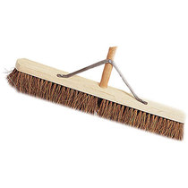 Broom Natural Coco with Handle & Stay