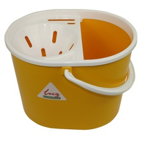 Oval Mop Bucket Yellow
