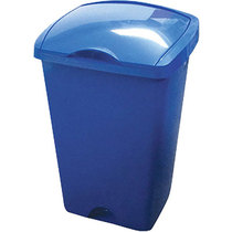 Addis Lift Top Bin Blue 50 Litre