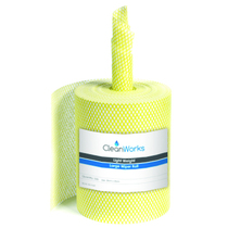CleanWorks Large Wiper Roll Yellow