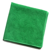 CleanWorks Microfibre Cloth Green