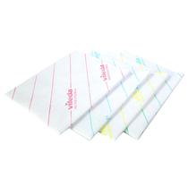 Vileda Professional Glass Cloth.Vileda Microlite 60 Cloth Green Microfibre Cloths Wiping Bchs