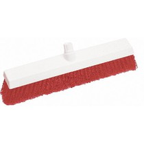 Interchange Hygiene Broom Soft Red 18