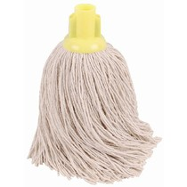CleanWorks Twine Socket Mop Yellow No 14