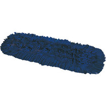 Synthetic Dual Dust Control Mop Head Blue 80CM