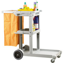 Economy Janitorial Trolley & Bag