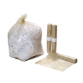 Refuse Sack Medium Duty Clear