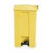Rubbermaid Slim Jim Step On Front Bin