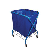 Folding Waste Cart & Vinyl Bag