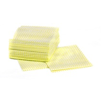 Hydromax Diamond Lightweight Quarter Folded Cloth Yellow Pack 50