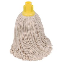 CleanWorks Twine Socket Mop Yellow No 16