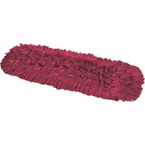 Synthetic Dual Dust Control Mop Head Red 40CM