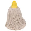 CleanWorks Twine Socket Mop Yellow No 16 Pack 10