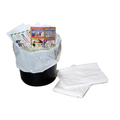 White Heavy Duty Swing Bin Liner