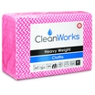 CleanWorks Heavy Weight Hygiene Cloth Red