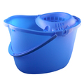 CleanWorks Plastic Mop Bucket Blue
