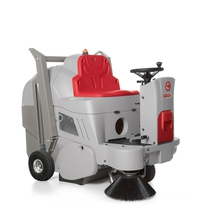 Comac CS800 Ride On Battery Sweeper