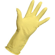 KeepCLEAN Rubber Household Glove Yellow Large