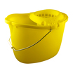 CleanWorks Plastic Mop Bucket - Yellow