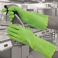 Pura Mediumweight PVC Glove Green EN374 Medium