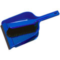 Dustpan & Brush Set Stiff Blue