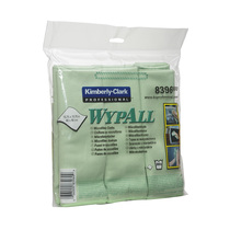 8396 WypAll® Microfibre Cloth Green
