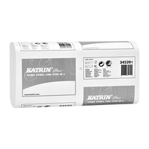 Katrin Interfold Hand Towel White 2Ply