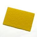 CleanWorks Colour Coded Scourer Yellow Pack 10